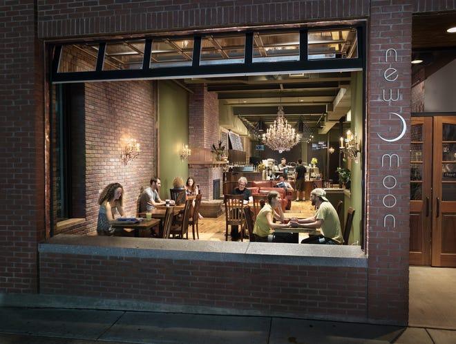 New Moon Cafe at 150 Cherry Street in Burlington.