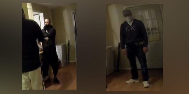 Norwood police are asking the public to help them identify and find three men wanted in connection with the shooting and wounding of aresident during a robbery.