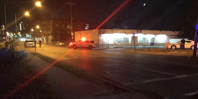 Cincinnati police are investigating a shooting in the 3500 block of Burnet Avenue  Wednesday night.