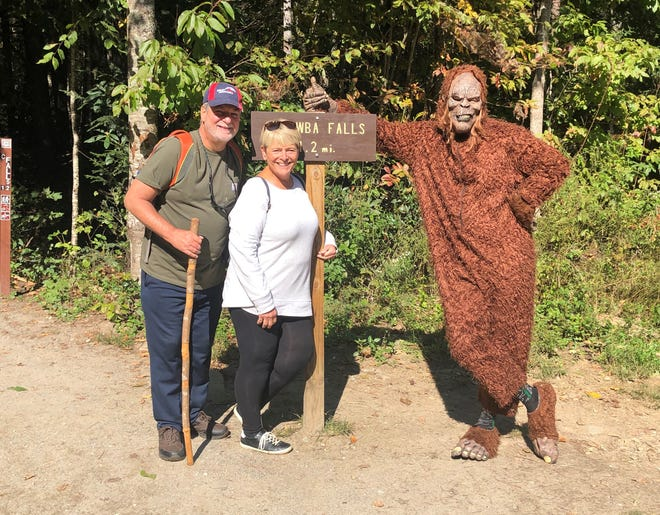 New-Messenger editor David Yonke and his wife Janet ran into Bigfoot while hiking in the Smoky Mountains earlier this month.