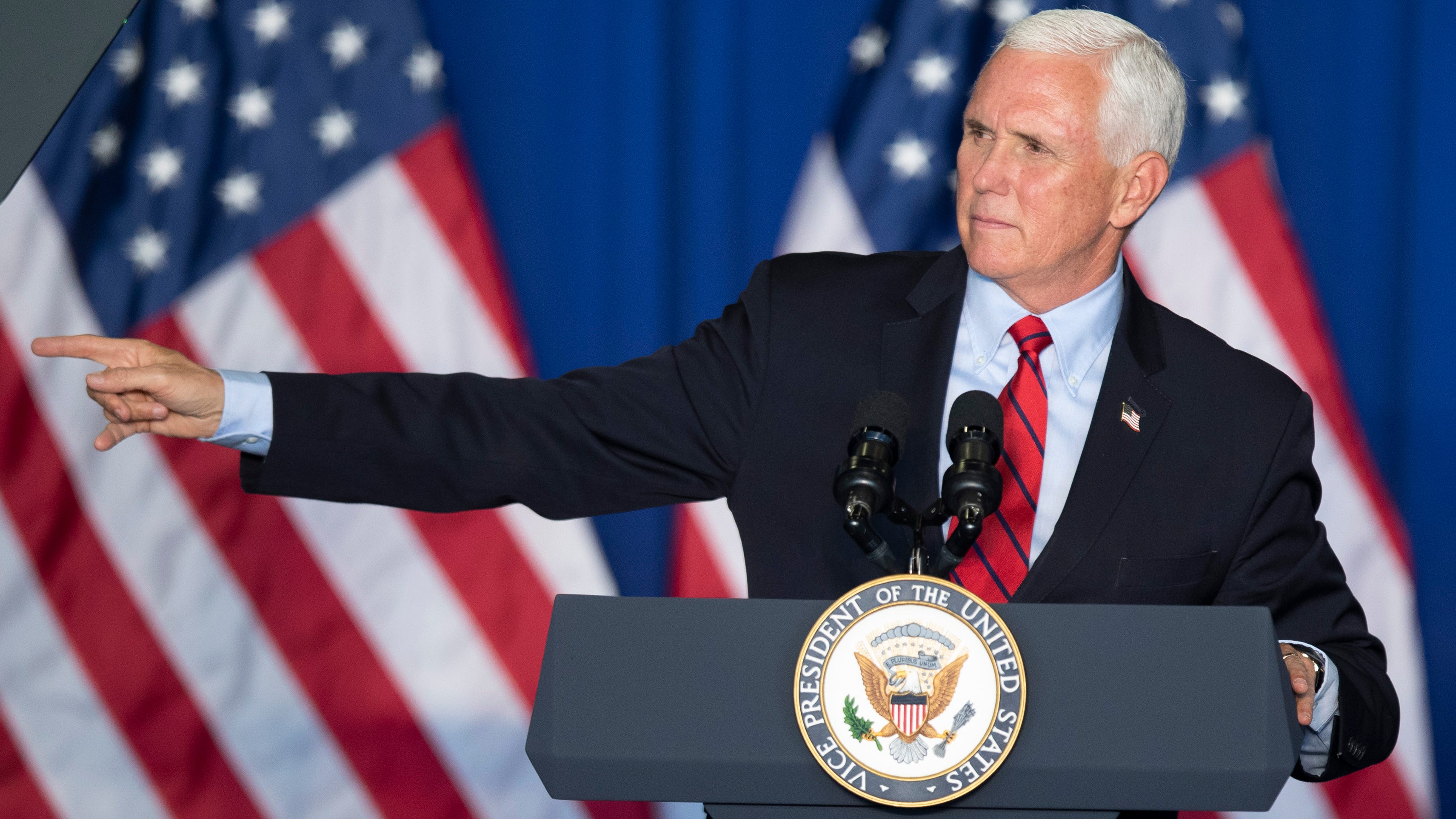 VP Mike Pence aides test positive for COVID-19