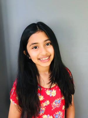 Prisha Hedau the author of Pandemic 2020: A 9 Year Old's Perspective