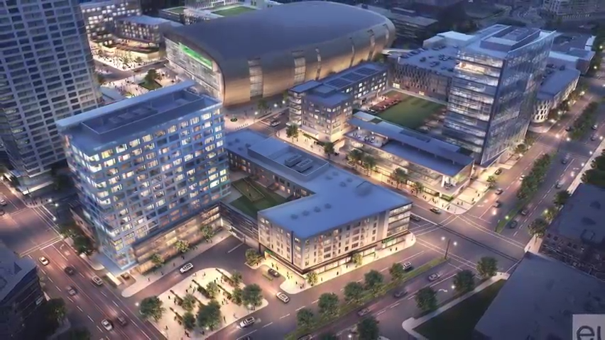 Land and Space: Upscale apartments could be joining hotel near Milwaukee's Fiserv Forum
