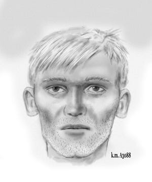 Phoenix police created a sketch of man believed to be connected to a woman found dead inside a mobile home on Oct. 21, 2020.