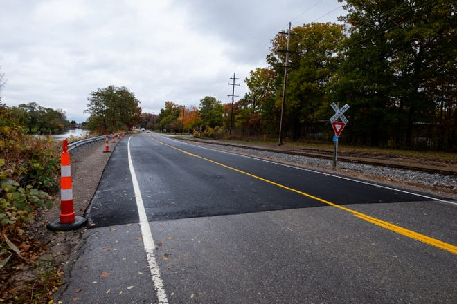 More than a year after the sinking St. Clair Highway reopened from its long-term closure, officials said the ground seemed settled enough to repave the roadway.