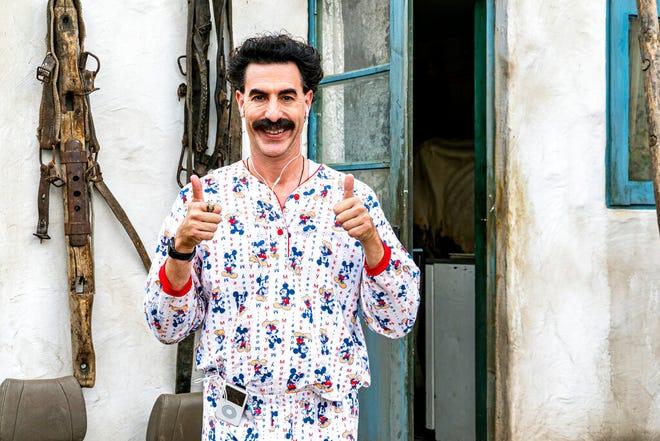 "Sacha Baron Cohen stars in ""Borat Subsequent Moviefilm."""