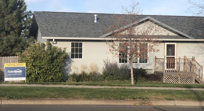 This 2,800 square-foot, five-bedroom, two-bathroom home in Pierre was listed In October 2020 for sale at $315,000. The South Dakota housing market has remained strong during the pandemic.