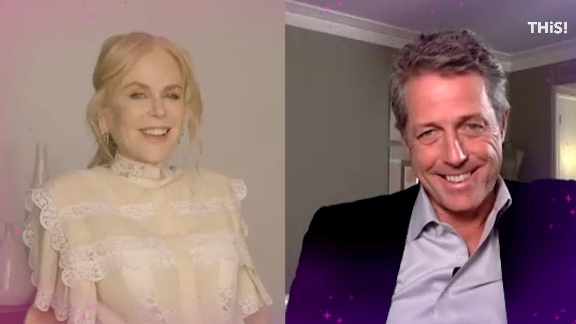 Nicole Kidman and Hugh Grant talk friendship, new HBO series 'The Undoing'