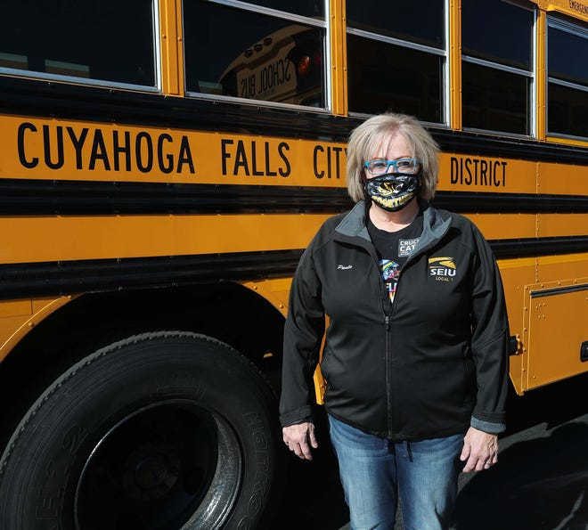 Paula Arriaga, a school bus driver for Cuyahoga Falls, is a Make the Grade Difference Maker.