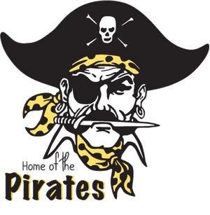 Black River Pirates logo.