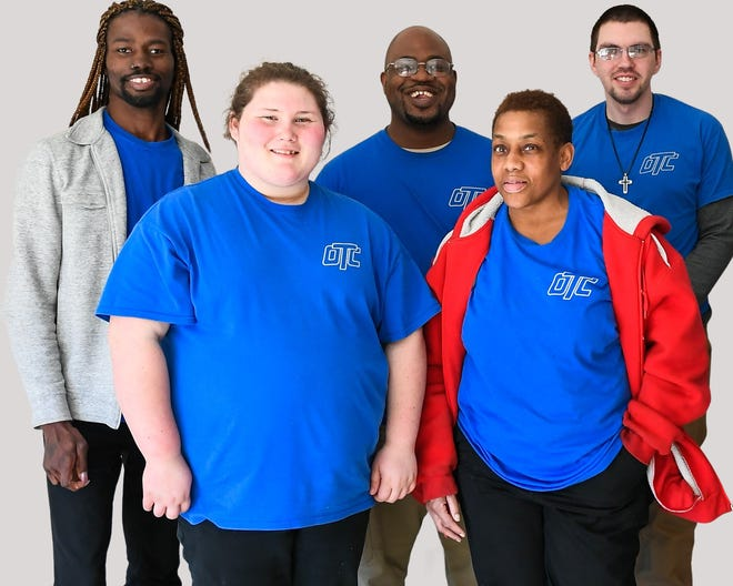 The Occupational Training Center (O.T.C.) in Burlington, New Jersey employs a team of janitorial professionals made up of disabled individuals who clean and disinfect various essential buildings throughout the state of New Jersey.
