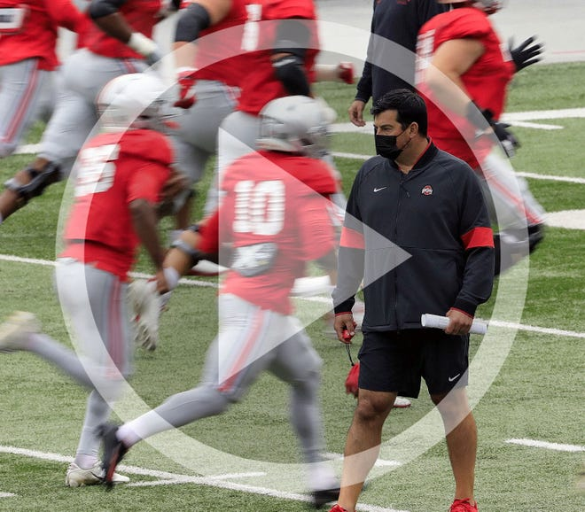 The coronavirus pandemic has thrown off the natural rhythms of all aspects of Ohio State coach Ryan Day's life, including the preparation for his late-starting football team.