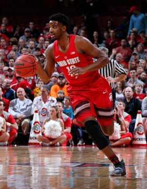 JaQuan Lyle, here playing for Ohio State in 2016, transferred to New Mexico and then played professionally in Greece.