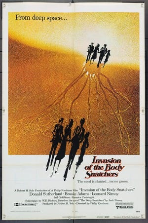 """""""Invasion of the Body Snatchers"""" (1978) poster"""