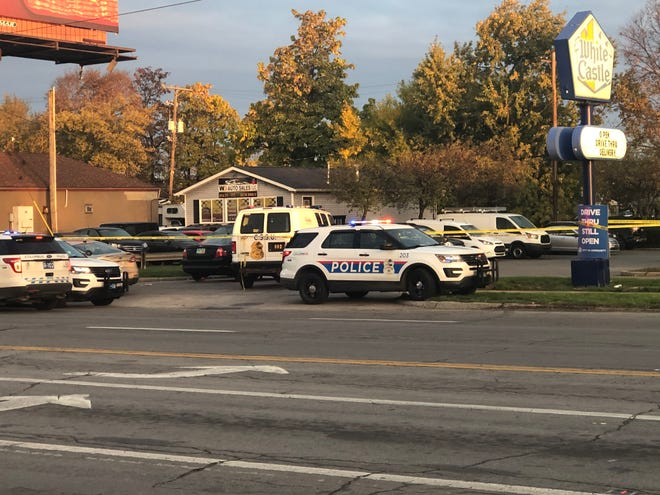 Columbus police are investigating a homicide at a West Side White Castle.