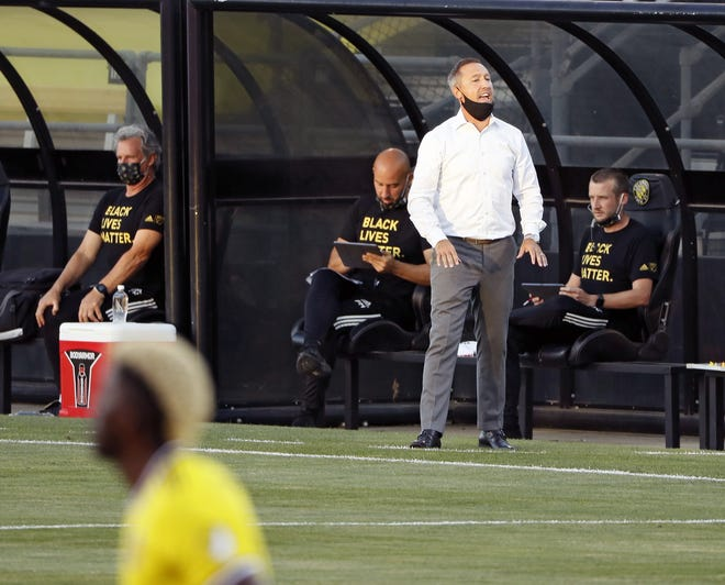 Crew coach Caleb Porter will have all of his top players at his disposal for a game at Houston on Saturday.