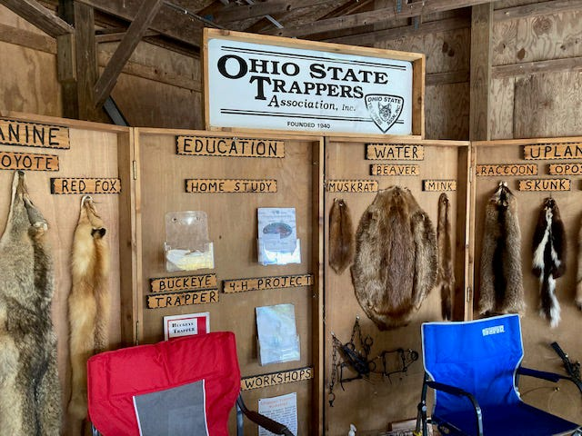 The Ohio State Trappers Association held its Region B (eastern Ohio) Fall Meet on Oct. 17 at the Killbuck Valley Sportsman's Club in Holmesville.