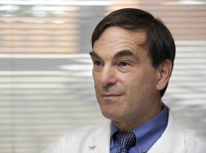 Howard Nadworny, M.D., is a Saint Vincent Hospital infectious diseases specialist.