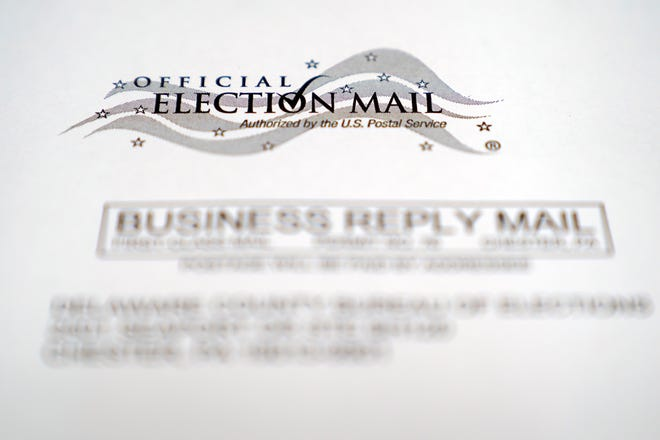 Pennsylvania's Supreme Court has ruled to prohibit counties from rejecting ballots because the voter's signature on a mail-in ballot might not resemble their signature on their registration form.  (AP Photo/Matt Slocum)