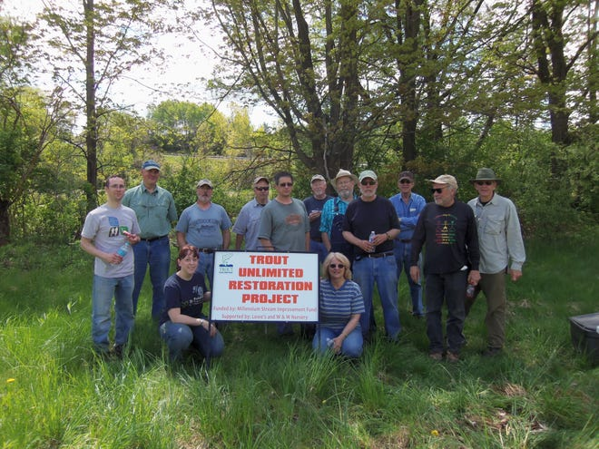 The Canandaigua Lake Chapter was awarded a $9,000 grant from the Trout Unlimited Embrace A StreamProgram to complete a large habitat improvement project at the Cohocton River.