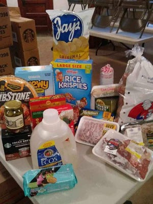 Hope Temple Christian Church will give away food boxes from 10 a.m. to noon Saturday at the church.
