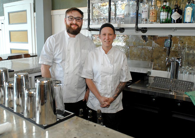 John Daniels and Nicole Nocella opened their restaurant, Stalk, at 286 Central Ave. in Dover in January. Daniels said they cannot take part in the N.H. Main Street Relief Fund because the fund requires businesses that apply to have been opened since at least September 2019. The NHMSRF is funded by the federal CARES Act Coronavirus Relief Fund.