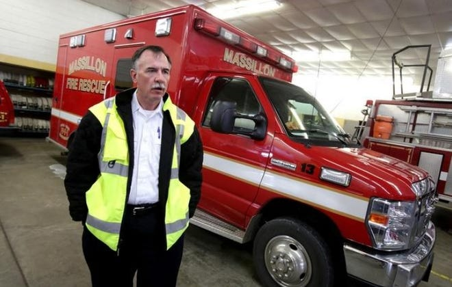 Massillon Fire Chief Tom Burgasser will retire in April.