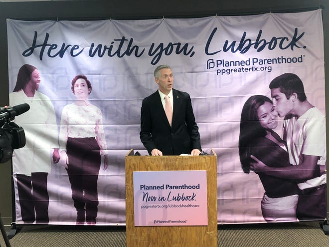 Ken Lambrecht, President and CEO of Planned Parenthood of Greater Texas, discusses the services Planned Parenthood will provide at its new location opening Monday.