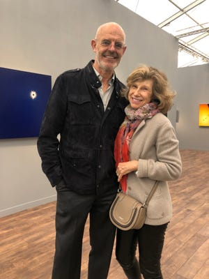 Residents Andy and Christine Hall are spearheading an auction on Dec. 8 at Phillips to pay for scholarships for low-income Black students pursuing careers in the arts at the Alexander W. Dreyfoos School of the Arts in West Palm Beach.