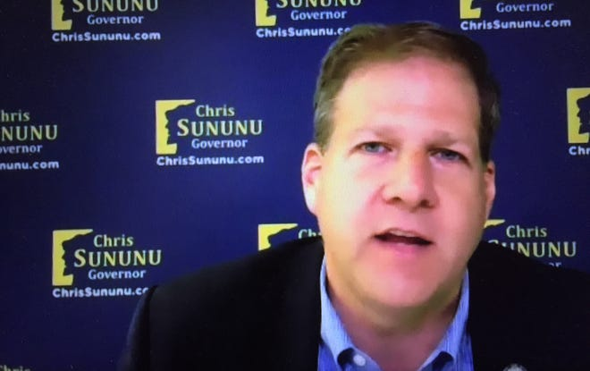 Gov. Chris Sununu emphasized remaining vigilant regarding the coronavirus pandemic during a Zoom video conference meeting with Seacoast Media Group's editorial board Friday, Oct. 23, 2020.