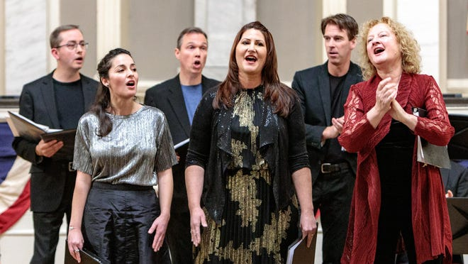 The Boston Cammerata will perform a live holiday show at The Music Hall in Portsmouth on Dec. 22 as part of the venue's Holiday Medley series.