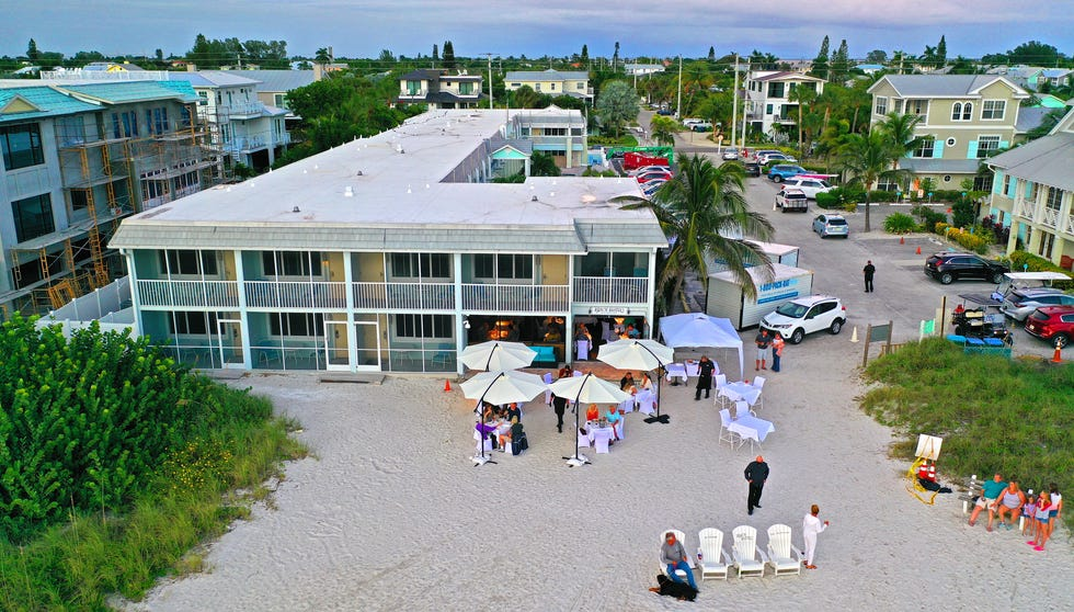 Beach Bistro on Anna Maria Island's Holmes Beach is now requiring patrons be vaccinated.