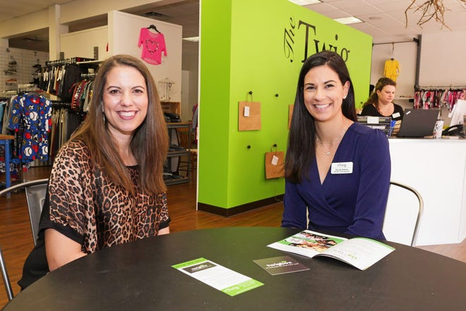 Callie Cowan, left, director of programs for The Twig Cares Inc., and Nicole Britton, director of development. The nonprofit plans to open a second location in Lakewood Ranch in summer 2021.