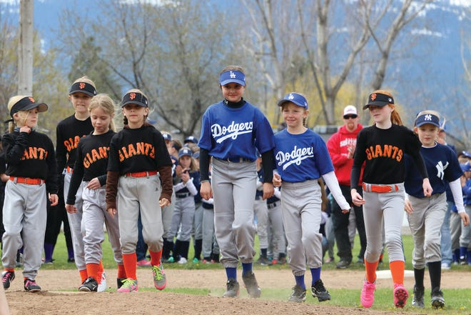 South Siskiyou Little League opens each season with an Opening Day celebration. This photo is from the 2017 season; the 2021 season is in jeopardy if new board members can't be found to sit on the SSLL Board of Directors.