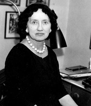 The late Mary Elizabeth Counselman was a prolific writer of poetry and strange tales of fantasy and science fiction. A native of Birmingham, she spent most of her life in Gadsden.