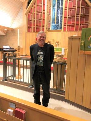 Dan Hughes recently spoke to the Strasburg Lions Club