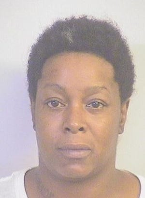 Booking photo of Kathy Marie Dean, 30.
