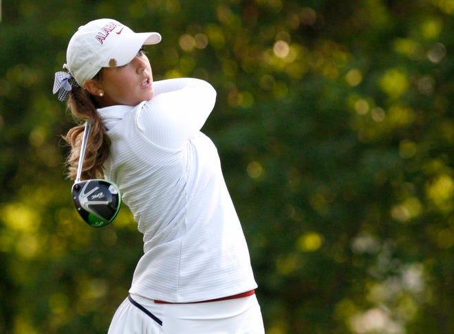 5/22/18 WGO NCAA TournamentAlabama women's golfer Angelica MorescoPhoto by Robert Sutton