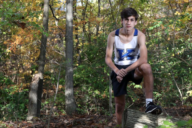 "Kilbourne freshman Steven Miller won the OCC-Capital Division boys cross country meet Oct. 17 at Westerville North, even surprising himself. ""I did not expect it,"" he said. ""I just thought 'well, here's another race, let's see what I can do.' """