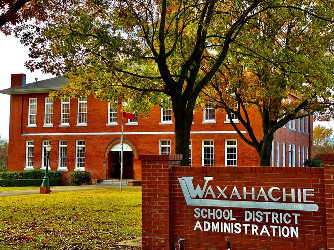 The Waxahachie Independent School District Administration Building at 411 North Gibson Street.