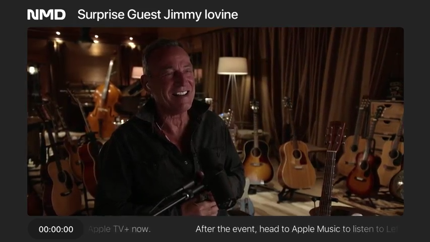 Bruce Springsteen midnight toast to 'Letter to You' on Apple Music