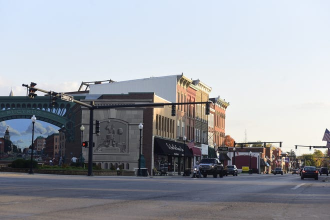 """The dim """"old-fashioned"""" lights of downtown Bucyrus could be changed in the coming weeks after city council members agreed brighter bulbs need to be  purchased for the city's street lights."""