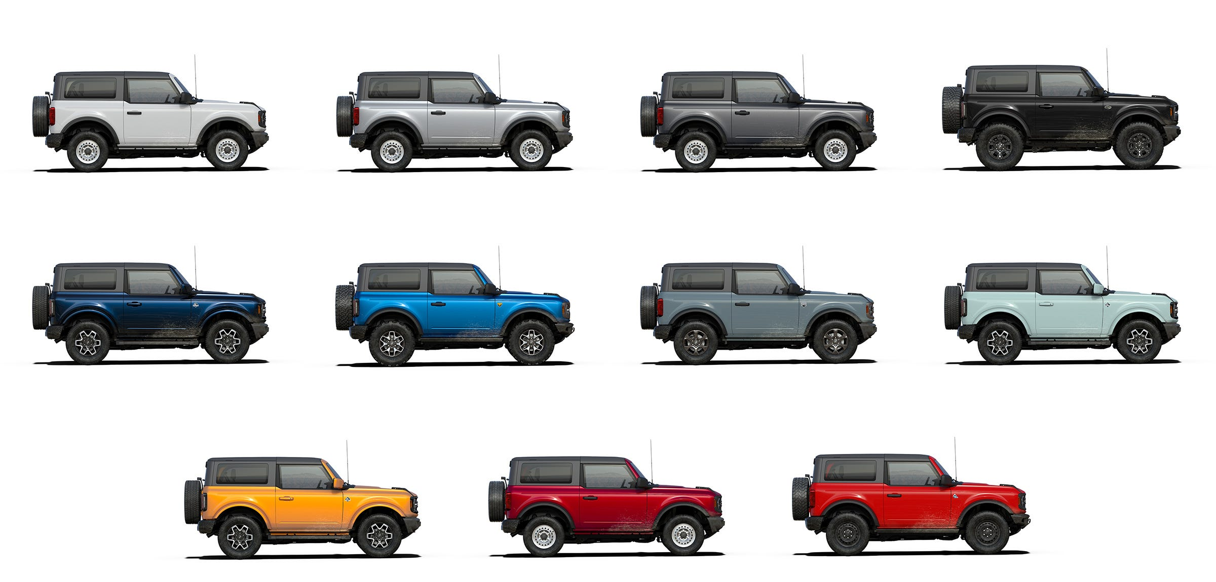 2021 Ford Bronco Fans Allowed To Build And Price After Months Long Wait