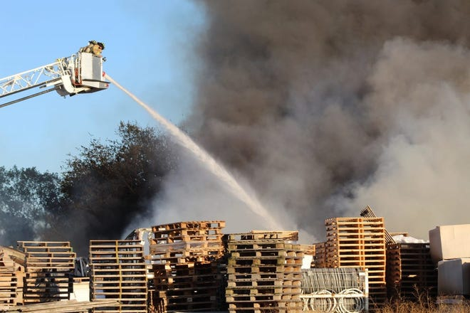 The Ohio State Fire Marshal's office is still investigating an Oct. 7 fire at Keegan Enterprises on Ohio 101. There was one minor injury in the fire, which consumed most of the property.
