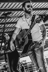 Country singer/guitarist Ben Allen of the Ben Allen Band