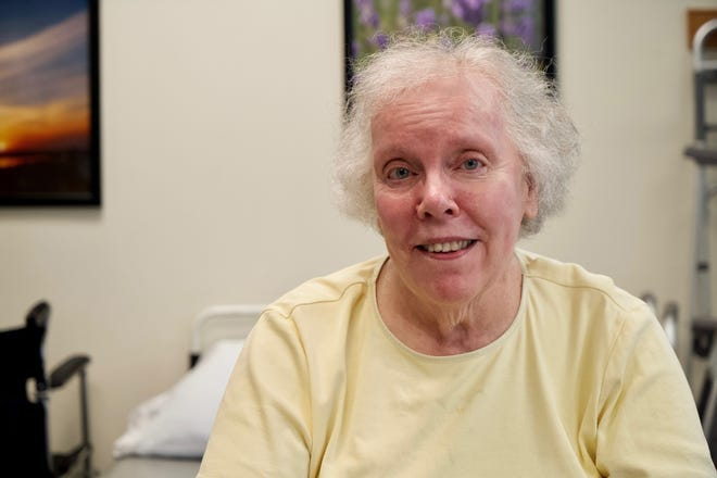 Joan Murphy of Ithaca recovered from her bout with COVID-19 after spending 57 days at Cayuga Medical Center this spring.