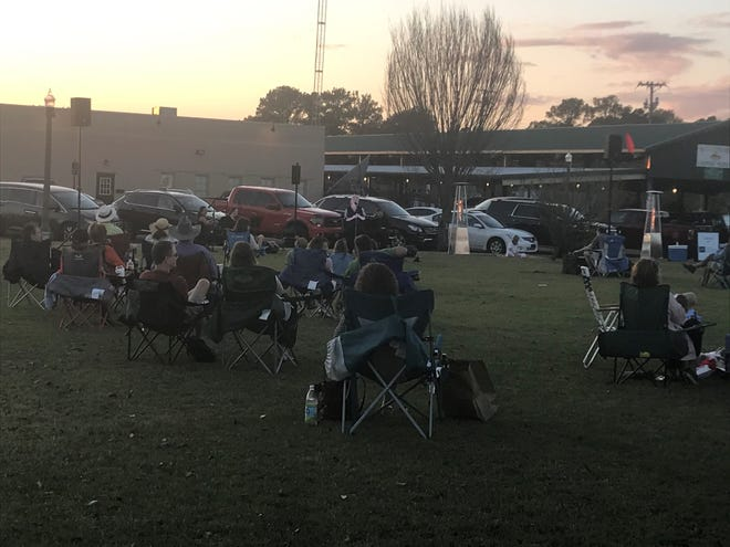 About 150 people attended The Jackson Symphony's ensemble concert Thursday night in Downtown Jackson.