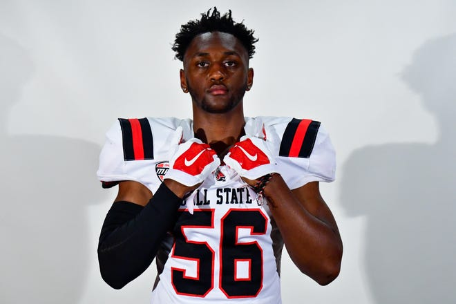 Keionté Newson will be a freshman for Ball State football this season. He is currently listed as an outside linebacker.