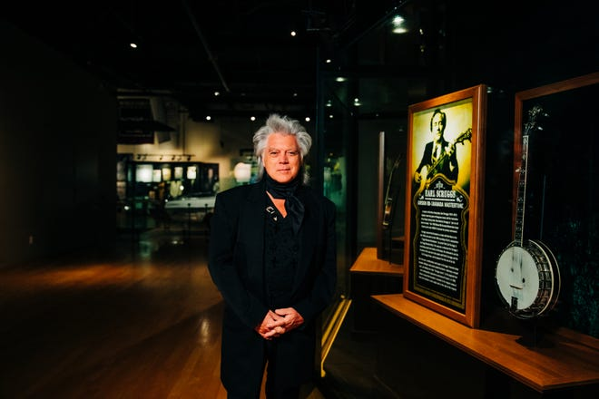 Marty Stuart at the Country Music Hall of Fame and Museum for 'BIG Night at the Museum.'