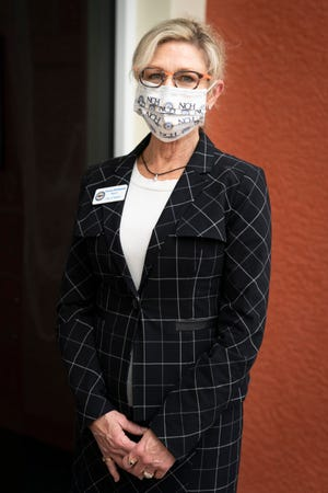 Naples Mayor Teresa Heitmann poses for a portrait at River Park Community Center in Naples on Thursday, October 22, 2020.
